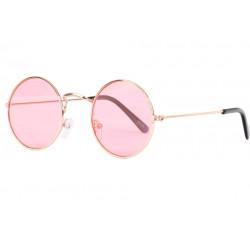 Petites lunettes de soleil rondes roses tendances Submy Lunettes de Soleil Eye Wear