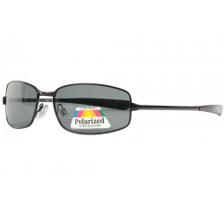 Fines Lunettes soleil polarisées Sport Noires en Metal Larcy Lunettes de Soleil Eye Wear
