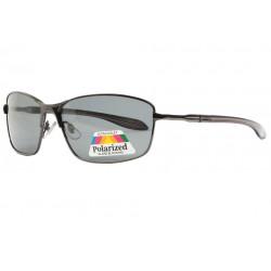 Lunettes polarisées Noires Sportswear en Metal Barcy Lunettes de Soleil Eye Wear