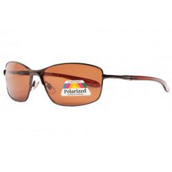 Lunettes polarisées Marrons Sportswear en Metal Barcy Lunettes de Soleil Eye Wear