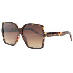 Grandes lunettes de soleil femme ecailles tendance Zek Lunettes de Soleil Eye Wear