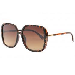 Grosses lunettes de soleil femme marrons classe Leka Lunettes de Soleil Eye Wear