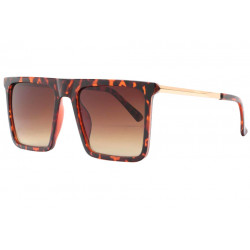 Grandes lunettes soleil Ecailles Marrons Fashion Kesley Lunettes de Soleil Spirit of Sun