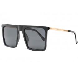 Grandes lunettes soleil Noires et Dorees Fashion Kesley Lunettes de Soleil Spirit of Sun
