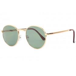 Fines lunettes de soleil rondes dorees mode Ytby Lunettes de Soleil Spirit of Sun