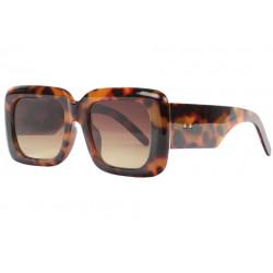 Grosses lunettes de soleil masque femme marrons Kylla Lunettes de Soleil Spirit of Sun