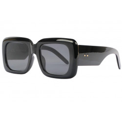 Grosses lunettes de soleil masque femme noires Kylla Lunettes de Soleil Spirit of Sun