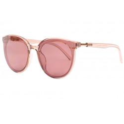 Grandes lunettes de soleil rondes femme marrons classe Tiny Lunettes de Soleil Spirit of Sun