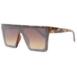 Grandes lunettes de soleil Ecailles Marrons Fashion Yko Lunettes de Soleil Spirit of Sun