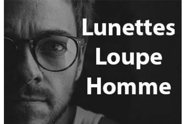 Lunettes loupe Homme